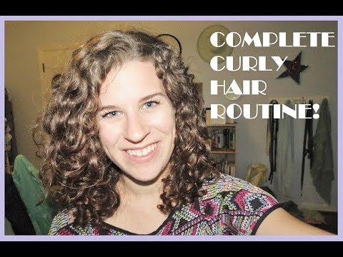 curly hair second day styling my complete curly hair routine washing styling amp 2nd 3337