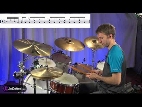 Drum Lesson : Fireball Intro - joecrabtree.com