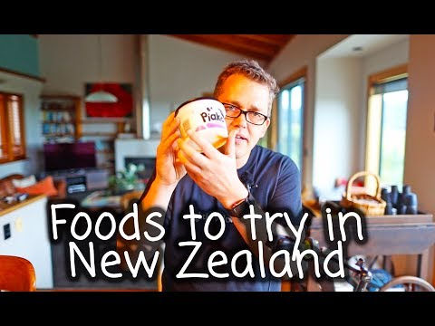 Yummy delicious foods to try while in New Zealand
