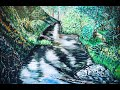 RIVER VIEW IN WONDERLAND - Yarra River- Step by step video by HSIN LIN /H,Lin the artsit