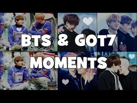 BTS & GOT7 Moments Compilation ❤