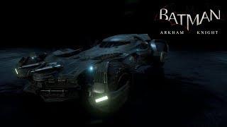 Batman: Arkham Knight - Batmobile Races [2016 Batman v Superman Batmobile] (HD,60fps)