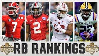 2020 NFL Draft RUNNING BACK Rankings | NFL Draft RB Rankings 2020