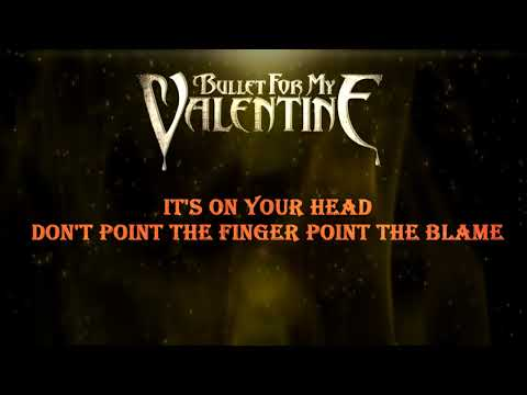 Bullet For My Valentine - Over It [Lyric Video]