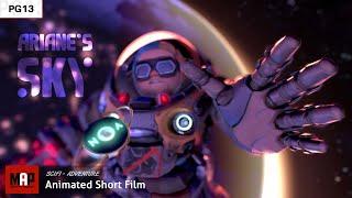 Lindo Sci-Fi CGI cortometraje Animado en 3d ** ARIANE DEL CIELO ** Animación CG de la Película por IsART Digital