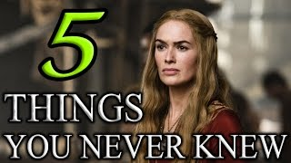 5 Things You Probably Never Knew about Game of Thrones!