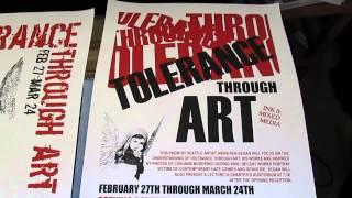 Artist A.K.Segan: Several art exhibit posters, lecture flyers 1987-2006 ©