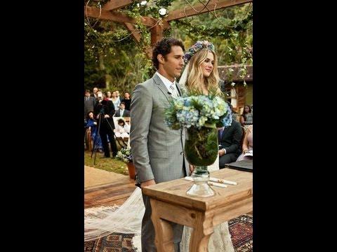 Casamento Fiorela Mattheis e F�vio Canto