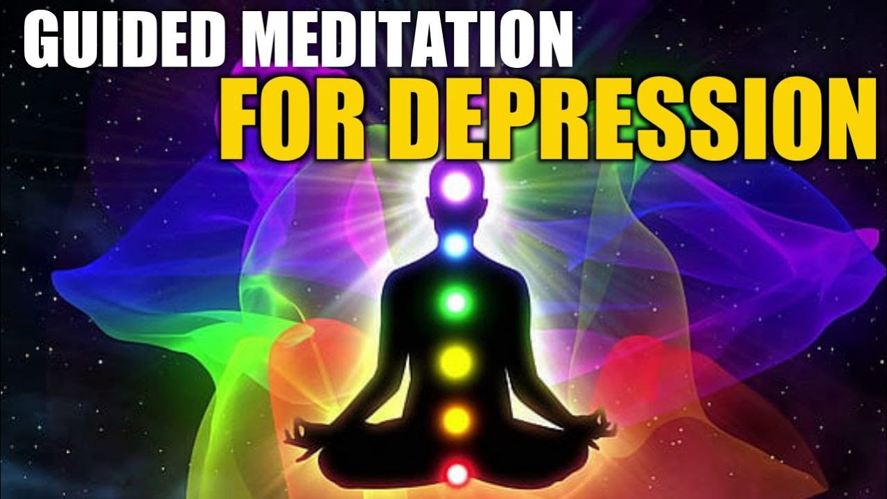 Guided Meditation for Depression & Sadness with Relaxing ...