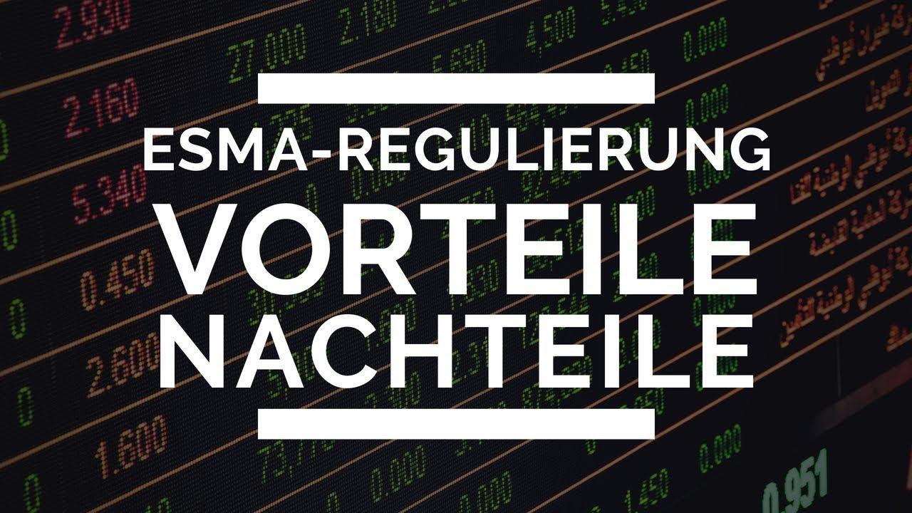 Esma Regulierung