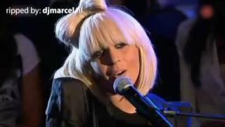 Eva Simons on Lady Gaga Concert in Dutch TV Show - April 2009