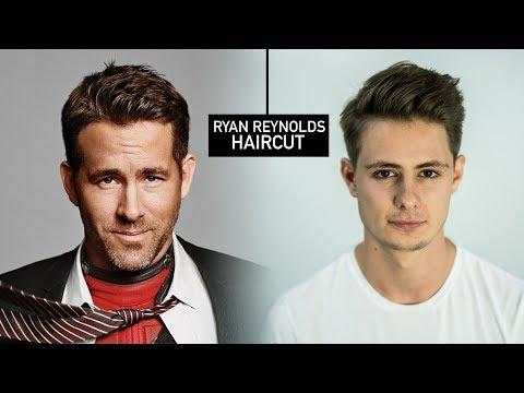 Ryan Reynolds Haircut & Hairstyle   Mens Fall Hair Tutorial   BluMaan 2017