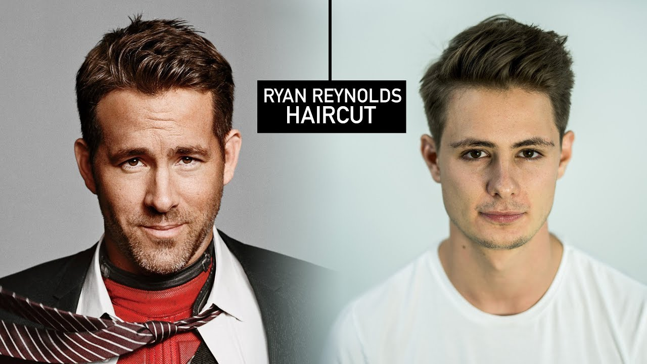Ryan Reynolds Haircut Hairstyle Mens Fall Hair Tutorial Blumaan 2017 Youtube