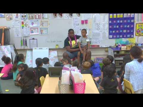Wesley live at Lehua Elementary school in Hawaii
