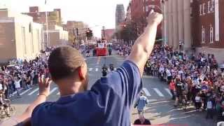 UConn Basketball Holds Dual Championship Parade