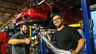 "700+ RWHP E85 Cobra Terminator Build: Longtube Headers - Mac 1 5/8"" Longtubes"