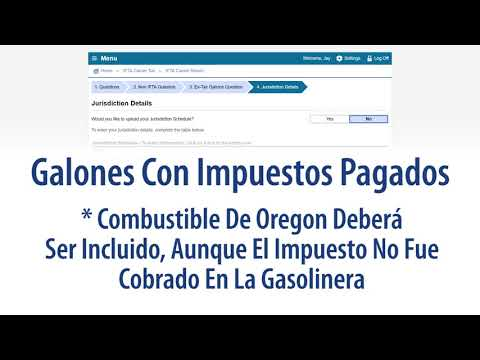 How To File An International Fuel Tax Agreement (IFTA) Quarterly Fuel Use Tax Return [Español]