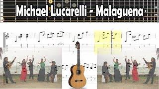 Michael Lucarelli - Malaguena  - Tablatura