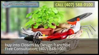 buy into Closets by Design franchise