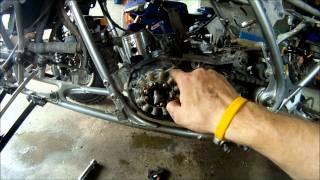 Yamaha Banshee Engine Disassembly Part 1 of 2