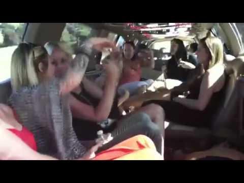 Bachelorette party - Snoop Dogg karaoke in da whip