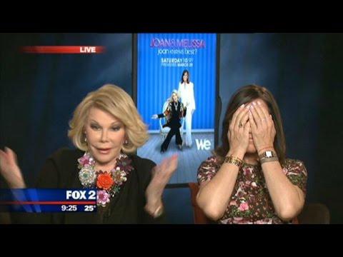 Joan Rivers leaves Jason Carr speechless