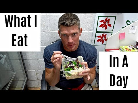 Stephen Wonderboy Thompson - What I Eat In A Day