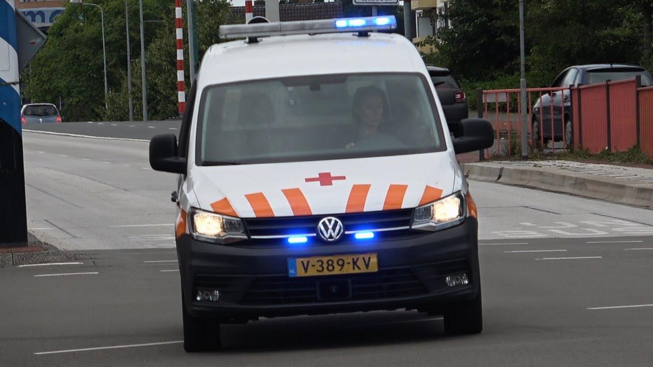 [13 07 2019] SIV Politie, Sanquin Bloedbank & Silverline Ambulance 02-127  met spoed in Groningen