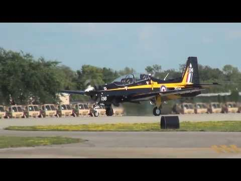 Tucano Mk 1 - Patty Wagstaff - Oshkosh 2013 - Thursday