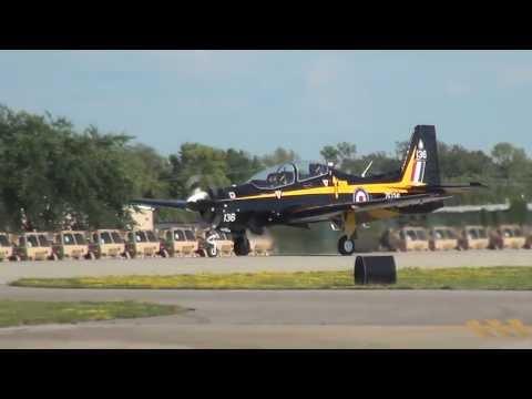 Tucano Mk 1 - Patty Wagstaff - Oshkosh 2013 - Thursday