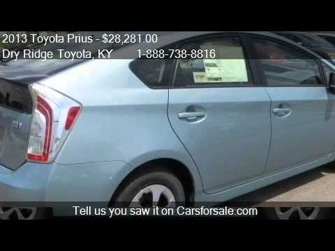 2013 toyota prius four for sale in dry ridge ky 41035. Black Bedroom Furniture Sets. Home Design Ideas