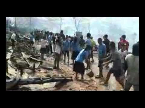[10]: Fire in Umpiem Mai refugee camp, Tak Province, Thailand