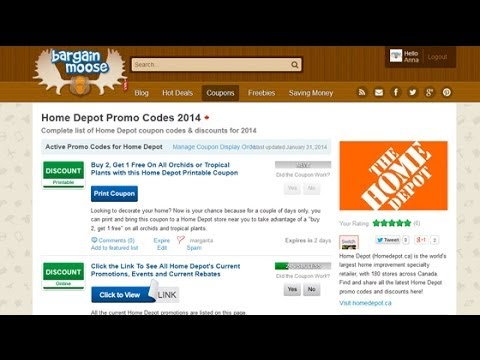 Home Depot Coupons: How To Find & Use Home Depot Canada Coupons