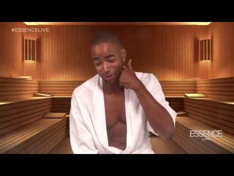 Jay Ellis on His Favorite Type of Foreplay | ESSENCE Live Steam Room