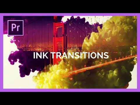 Ink Transitions in Adobe Premiere Pro CC Tutorial