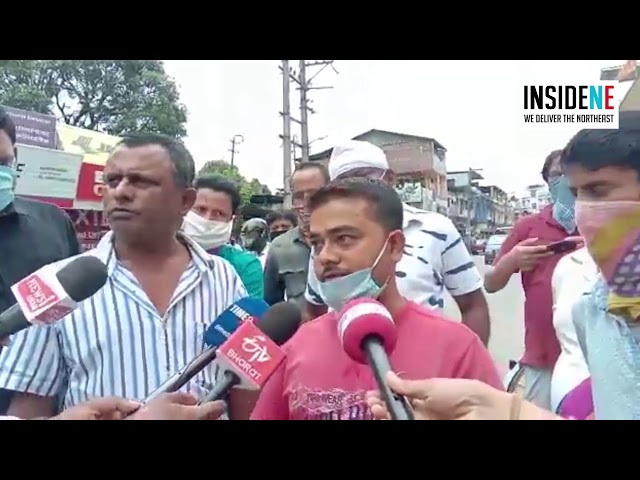 Large scale irregularities in free rice grains distribution take place in Dibrugarh