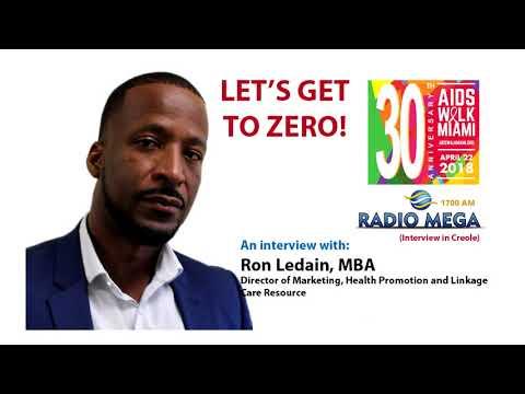 Radio Mega Interview with Ron Ledain (CREOLE)