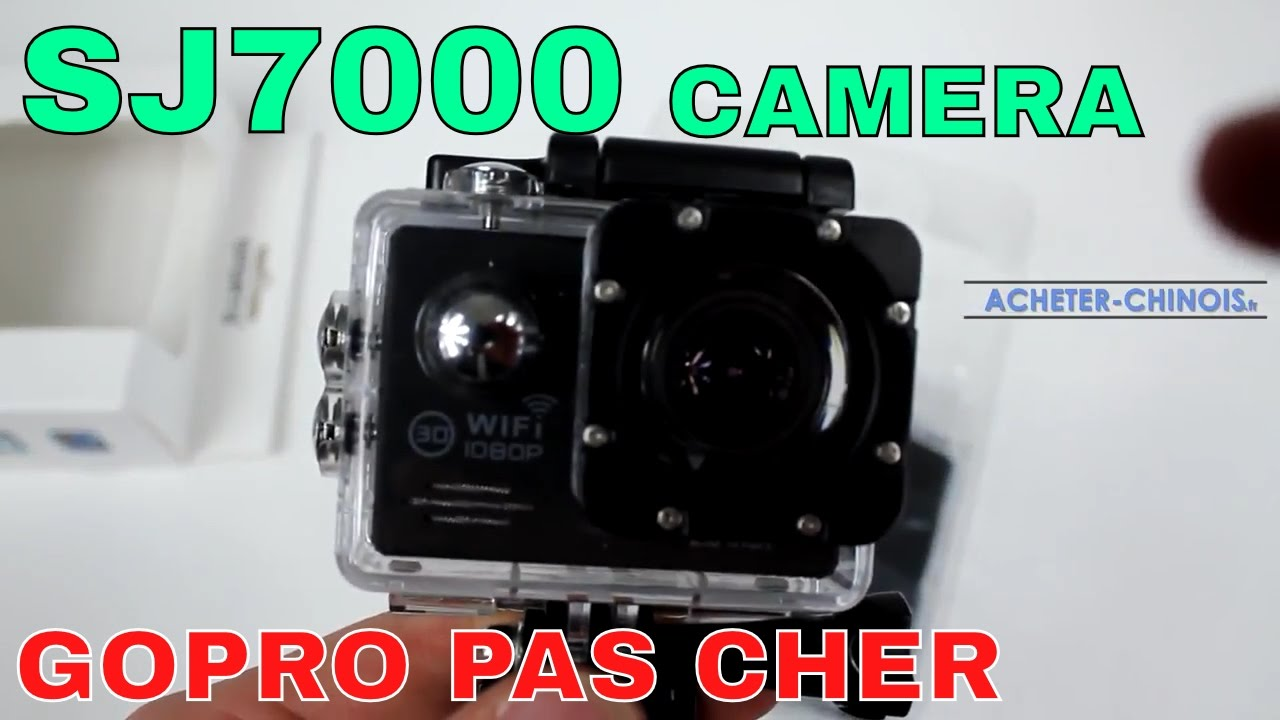 camera sj7000 une gopro pas cher unboxing test youtube