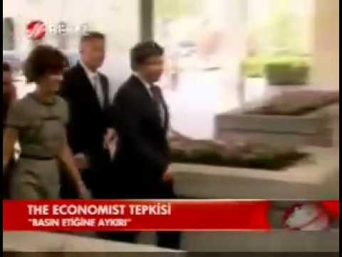 Ahmet Davutoglu'ndan 'The Economist' Tepkisi