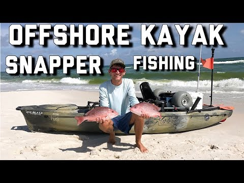 Offshore Kayak Fishing | Red Snapper From The Hobie Pro Angler
