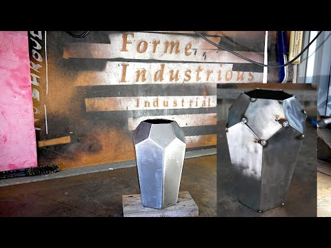 Basic Metal Fabrication - Make a Geodesic Steel Vase - Forme Industrious