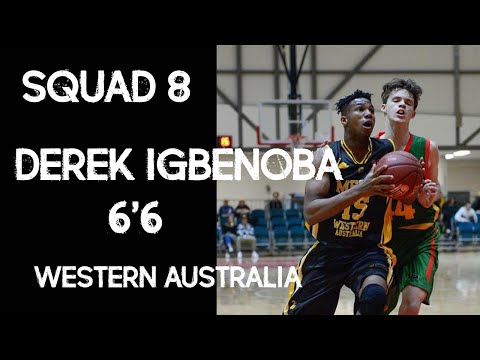 15 Year Old! 6'6! DOMINANT Post Game ! Dereck Igbenoba Western Australia Product!
