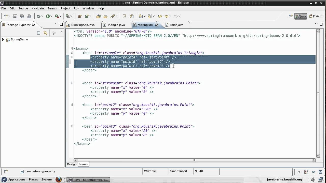 Spring tutorial 09 initializing collections youtube spring tutorial 09 initializing collections java brains baditri Choice Image