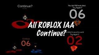 ROBLOX - All IAA Continue?/Lost screen