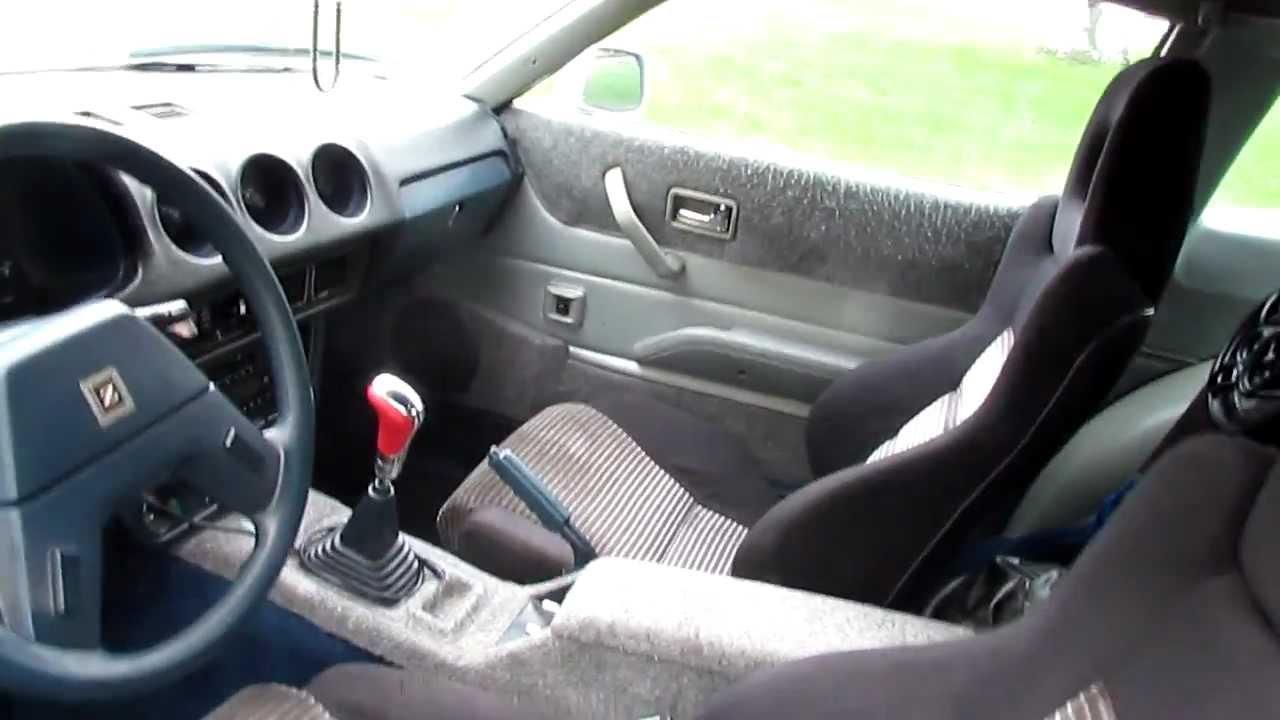 datsun 280zx crx seat swap [ 1280 x 720 Pixel ]