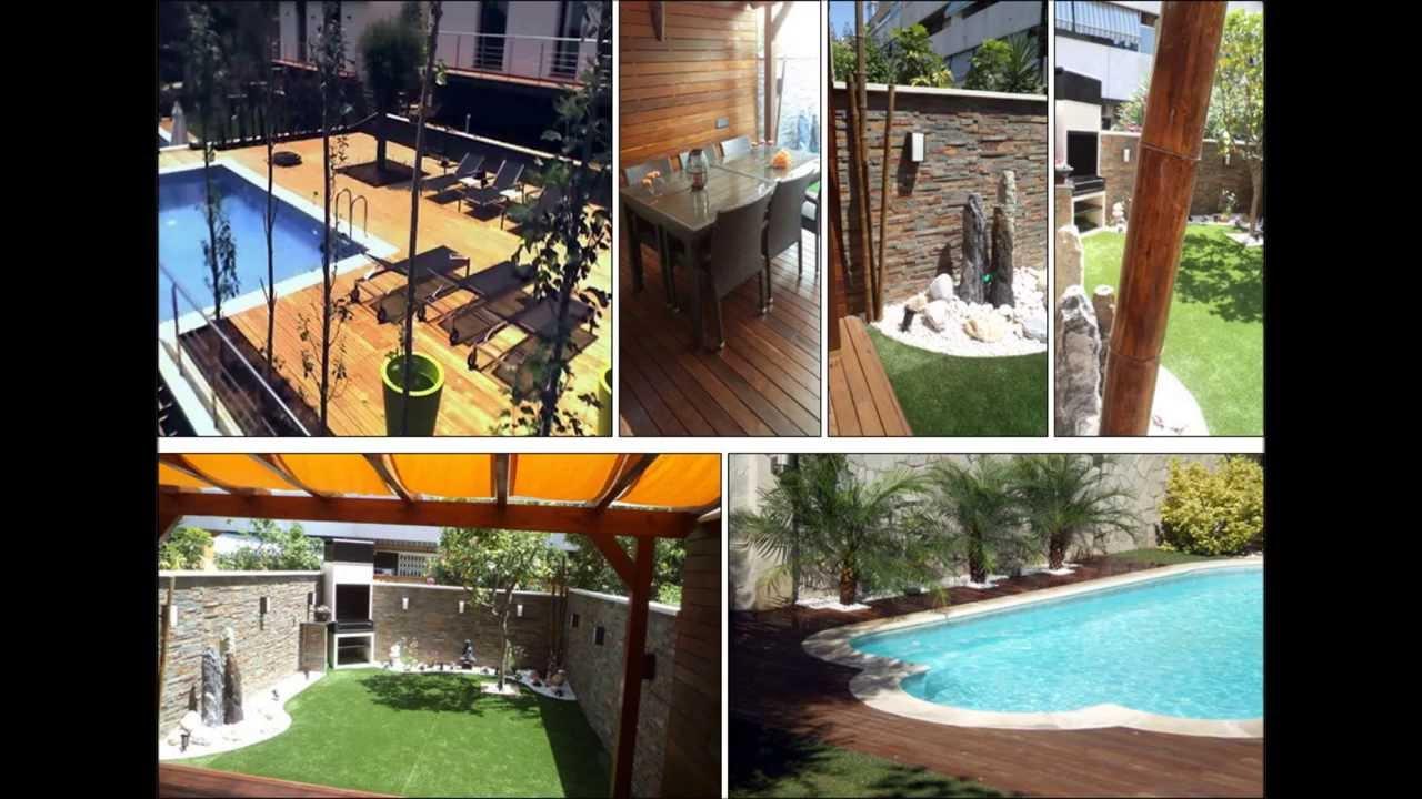 Ideas para dise ar un jardin paisajismo parte 4 por lb - Jardines de casas ...