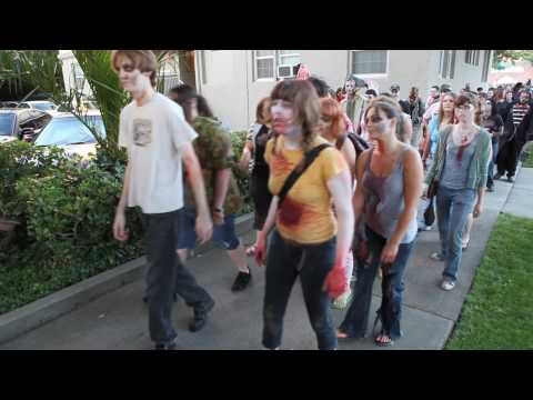 ZOMBIE WALK Trash Film Orgy July 10, 2010 Sacramento CA (HD)