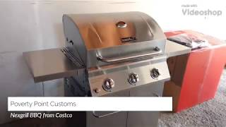 Nexgrill Stainless Steel 3 Burner BBQ Barbeque Grill  from Costco Review