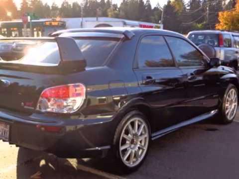 2007 Subaru Impreza Wrx Sti Sedan Seattle Wa Youtube