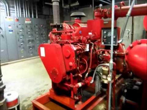 Cummins Diesel Engines >> For Sale Used Cummins Diesel Engine Model 6BTA5.9-F, Used Fire Pump Engine 208 HP - YouTube